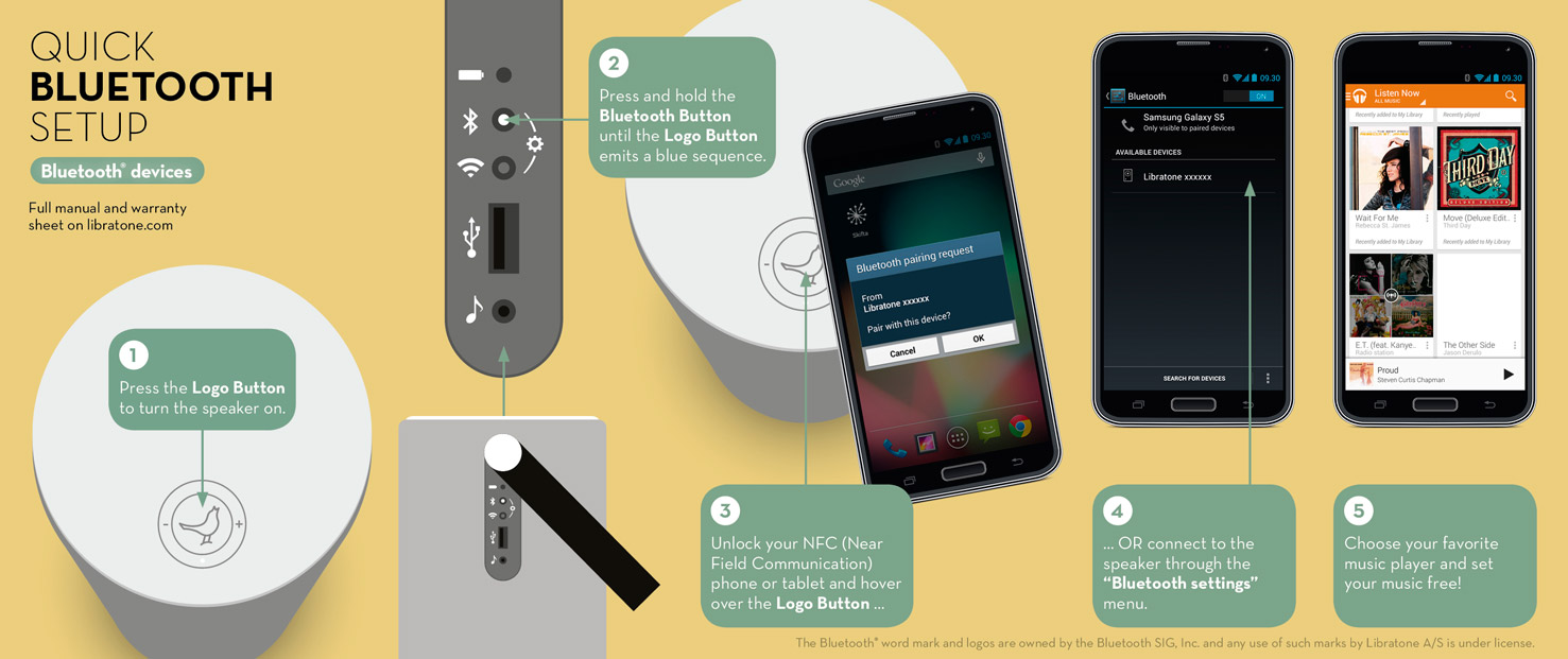 Connect to Bluetooth devices  redirect  US